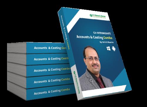 CA Intermediate - Accounts and Costing (Combo)