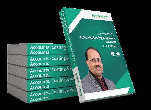 CA Intermediate (Combo) Accounts, Costing and Advance Accounts